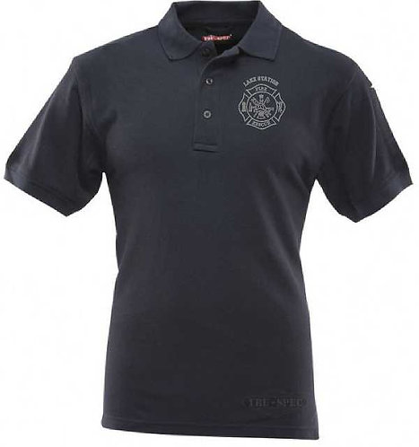 Lake Station Fire Tru-Spec Short Sleeve Polo