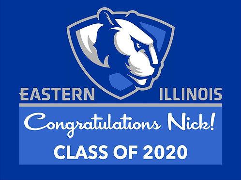 Customized School Graduate Sign