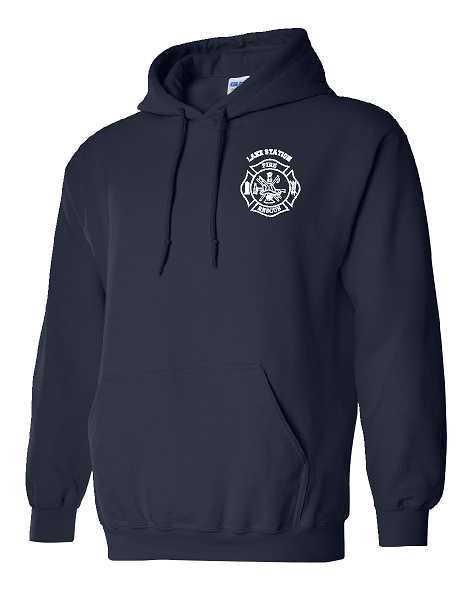 Lake Station FD Reflective Hoodie Pullover Sw