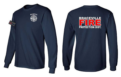 Braceville Fire Reflective Long Sleeve