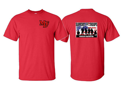 Support Our Troops / Red Shirt Friday Short Sleeve