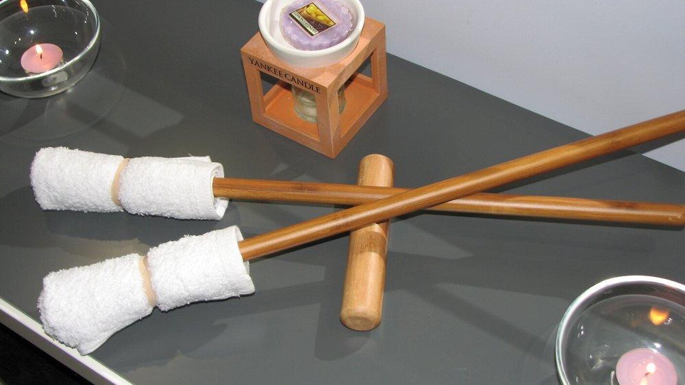 Heated Bamboo Massage