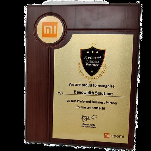 Wooden Memento Award SMC9002