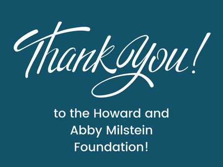 FORA Awarded Grant from Howard and Abby Milstein Foundation