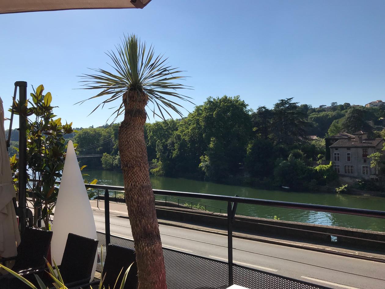 Vue sur Saône