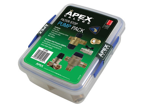 Apex Mp Combi Pack with Filter Stop 20mm