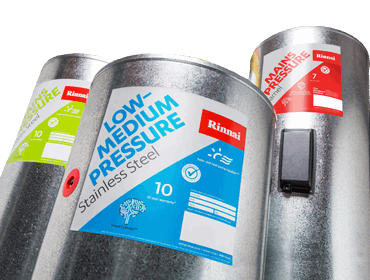 Rinnai Smart Cylinder 135l LOW-MED pressure (enamel)