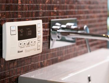 The Rinnai Bathroom Deluxe Controller