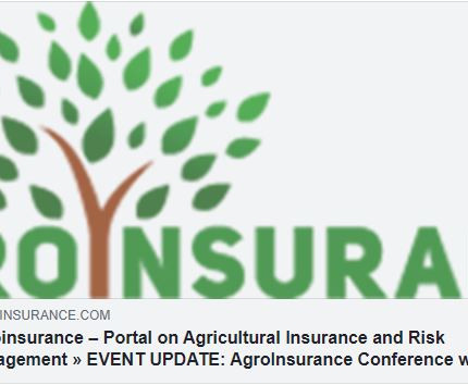EVENT UPDATE: AgroInsurance Conference will be held on October 4-6, 2021