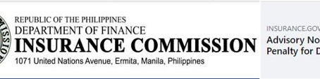 IC Advisory No. 2021-04 – Suspension of Penalty for Delay in the Submission of Requirements for ...