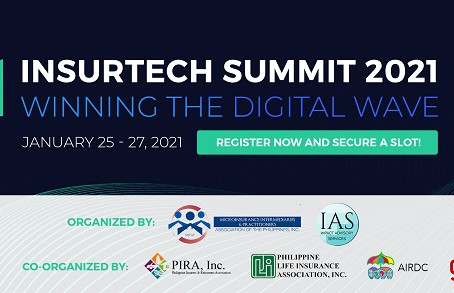 INSURTECH SUMMIT 2021 Theme: Winning the Digital Wave January 25 to 27, 2021