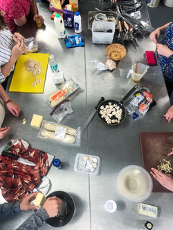 Lovely group cooking