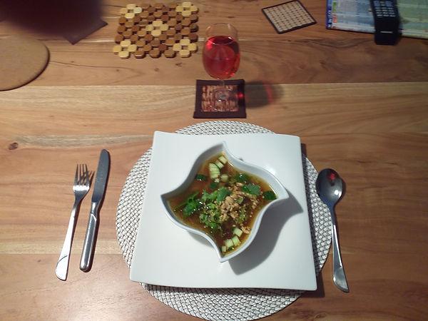 Bild Buch 3 Indonesische Suppe mit Rindf