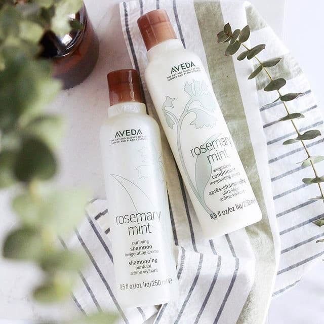 Rosemary Mint Shampoo and Conditioner