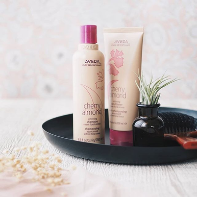 Cherry Almond Shampoo and Conditioner