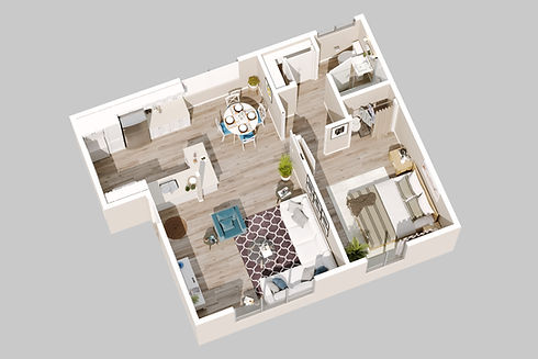 240 Spring Street Paso Robles_Unit 1_3d