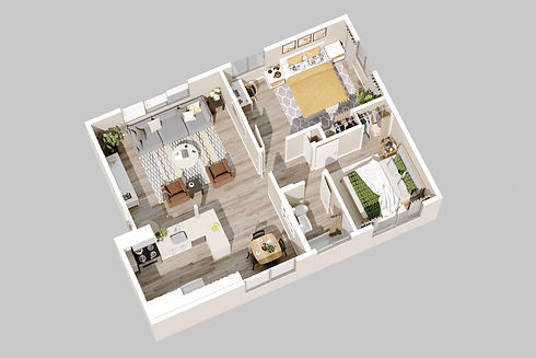 240 Spring Street Paso Robles_Unit 2_3d