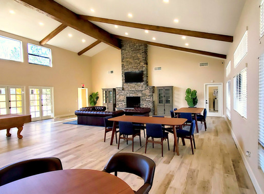 OUR BIGGEST INTERIOR PROJECT YET - A CLUBHOUSE!