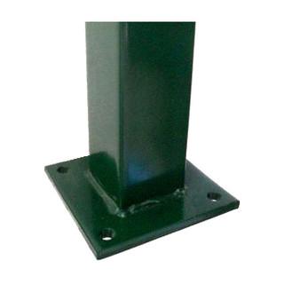 Poste con base para anclaje a radier  |  Verde