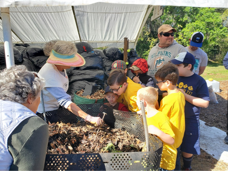 Want to learn about composting? We teach about composting too!
