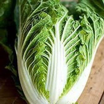 Emiko Cabbage (seed packet)
