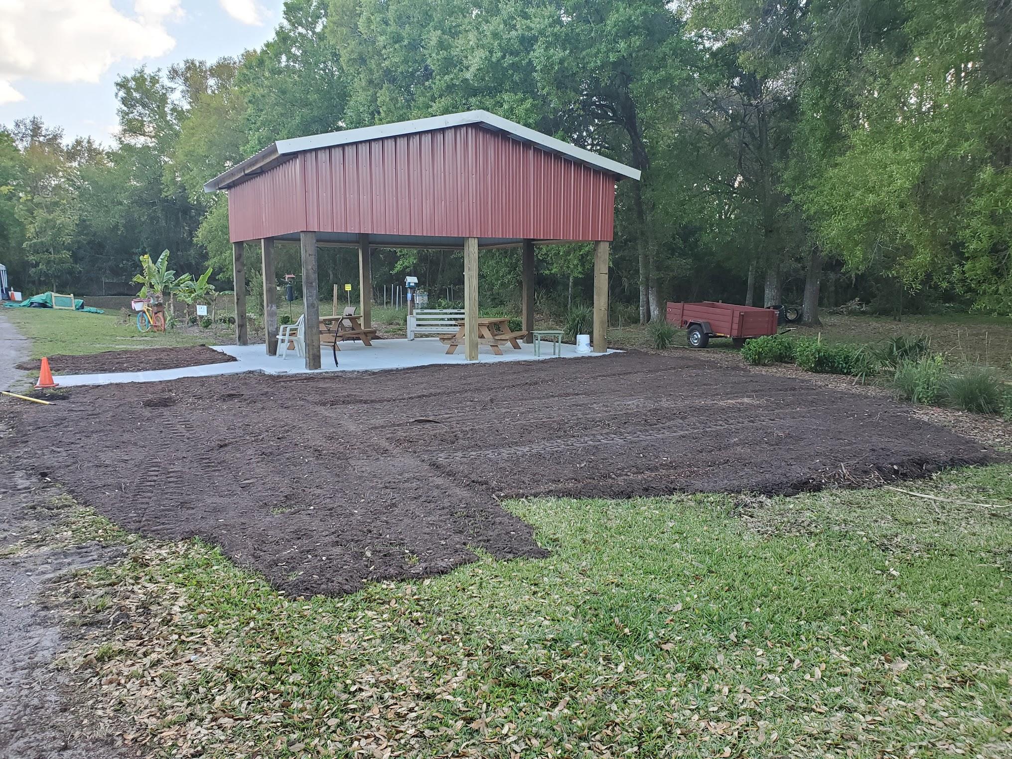 Phase 3 Pollinator Garden