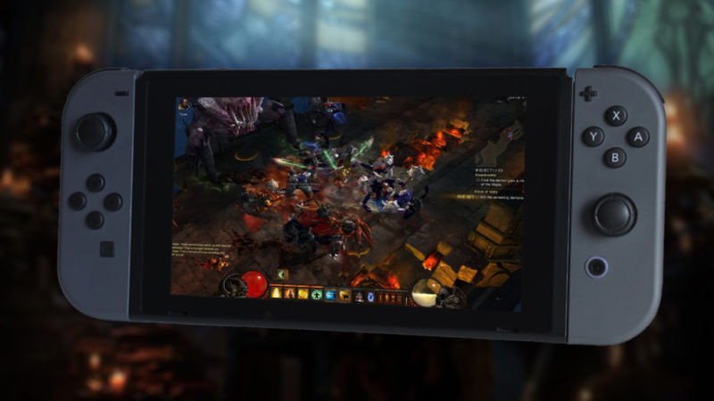 """Diablo III's Switch version leaked ahead of official unveil, coming """"2018"""" - Read More from Ars Technica"""