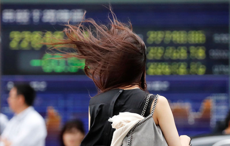Asian shares tripped up by new U.S. tariff threat - Read More from Reuters