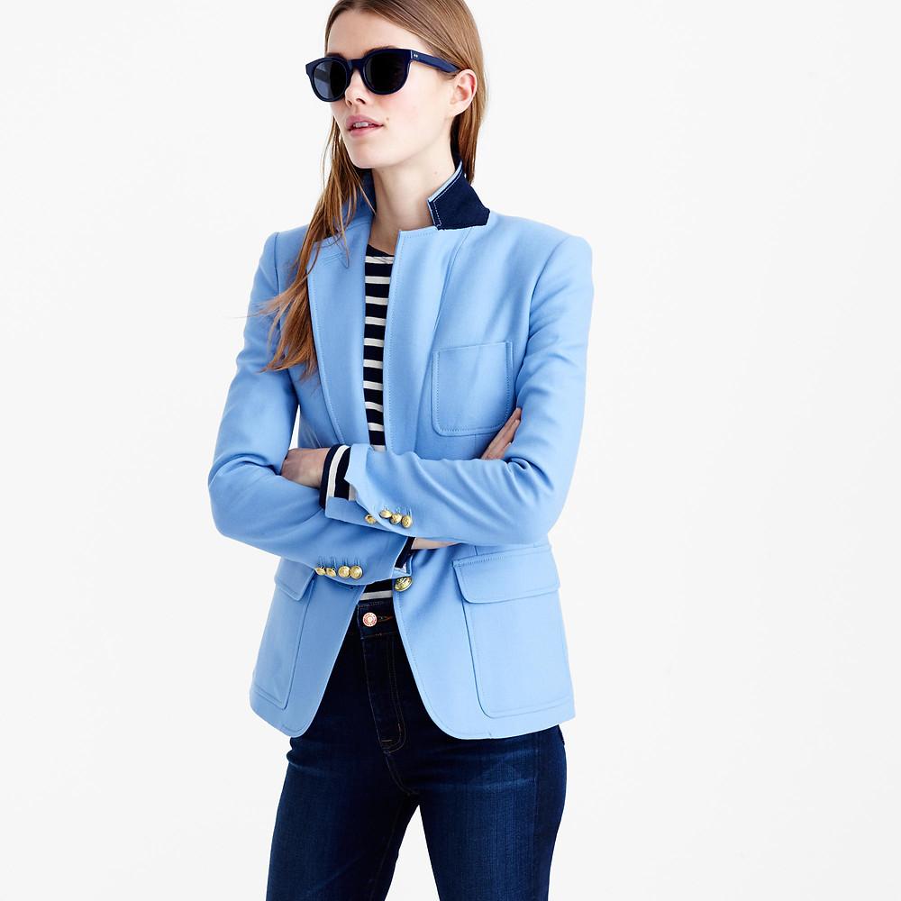 J. Crew blue blazer