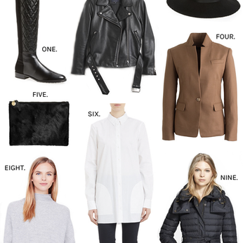 How to Guide for: Fall pieces