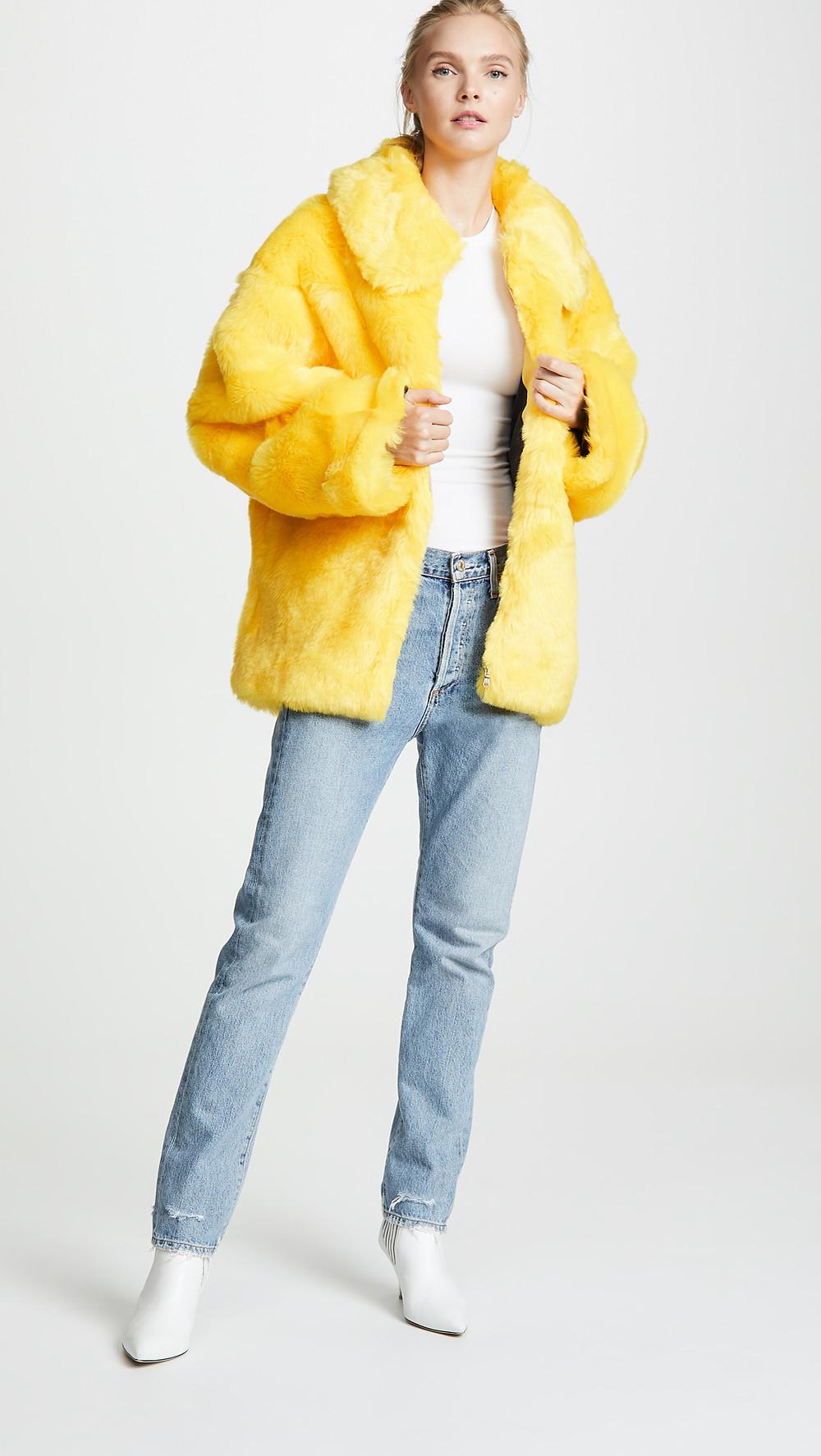 I.AM.GIA Faux Fur Capella Jacket $240