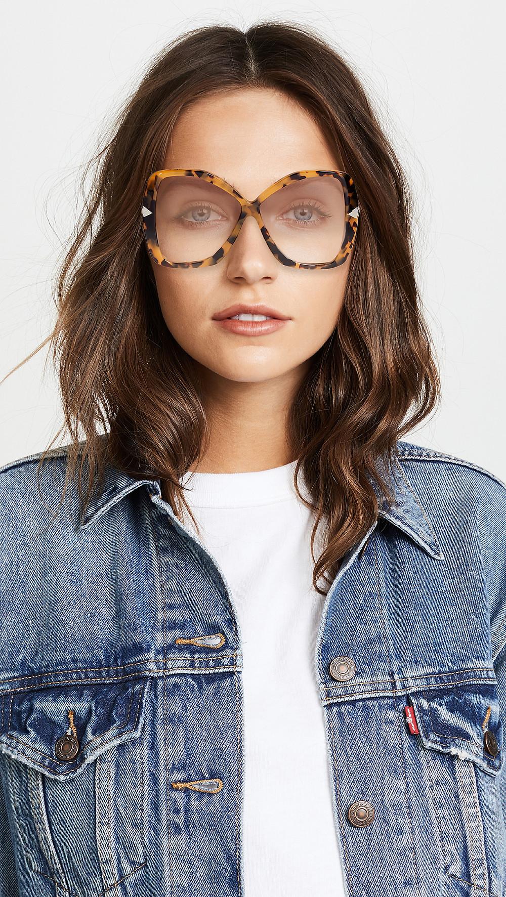 Karen Walker Mary Sunglasses $220