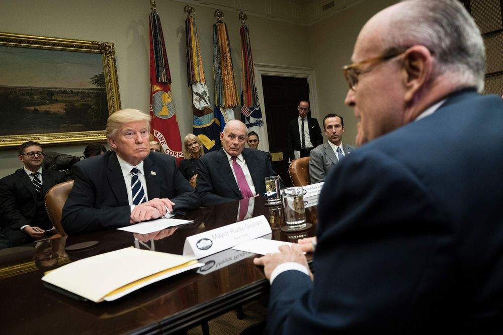 Trump Ordered to Turn Over Giuliani Memo in Travel Ban Suit - Read More from Bloomberg