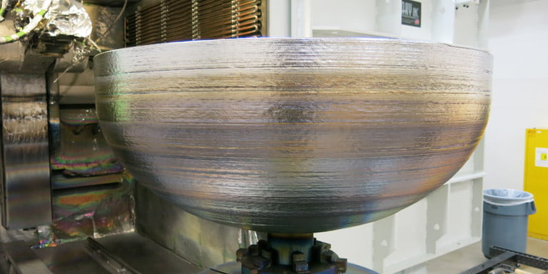 Lockheed Martin 3D printed an impressive titanium dome for satellite fuel tanks - Read More from Digital Trends