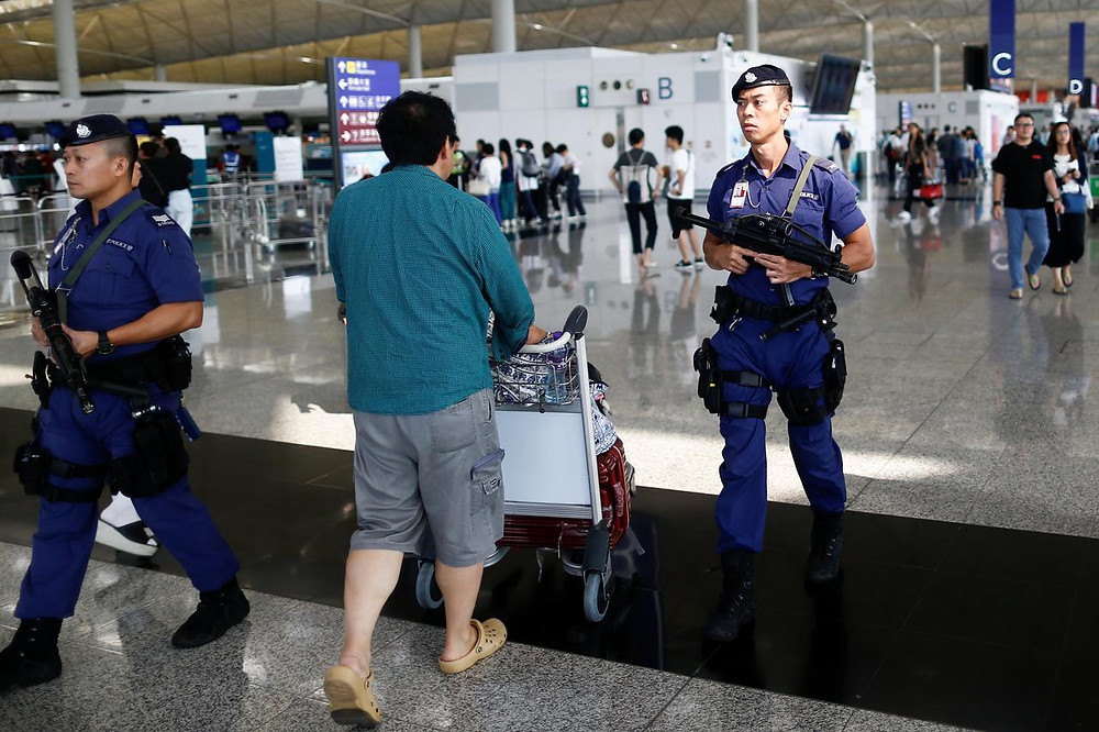 Hong Kong airport reopens amid warnings over pro-democracy protests - Read More from Reuters