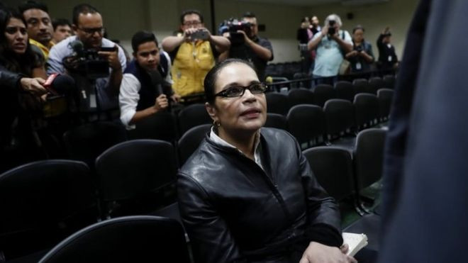 Guatemala ex-VP Roxana Baldetti jailed in 'Magic Water' scandal - Read More from BBC News