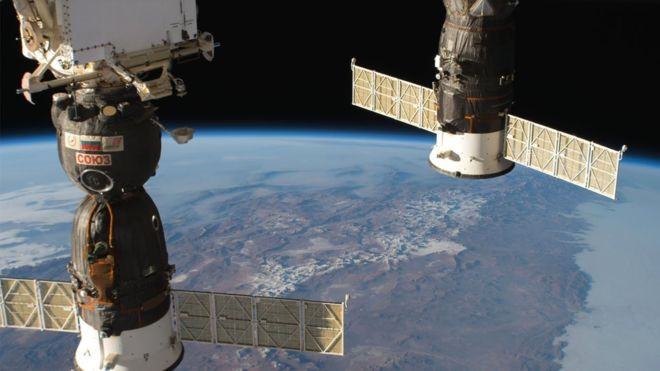 Astronauts tackle air leak on International Space Station - Read More from BBC News
