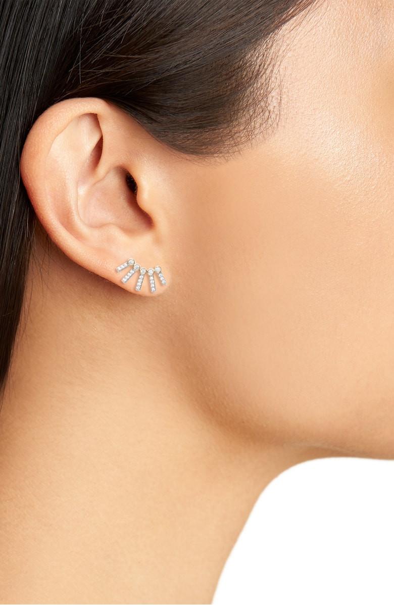 Nadri Cypher Crawler Earrings $25.90