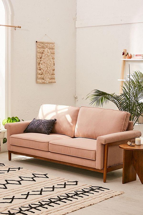 Aria Microfiber Sofa $599.00