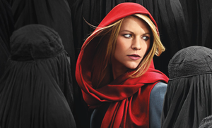 Claire Danes as Carrie Mathison in the Showtime Series Homeland