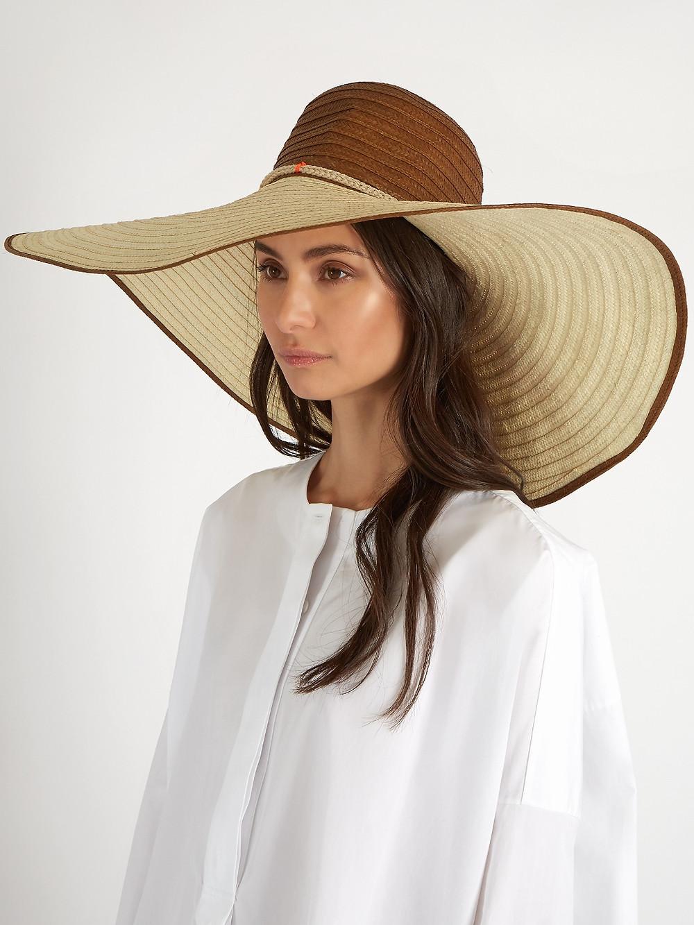 Sophie Anderson Corozon pompom-embellished raffia hat  $137