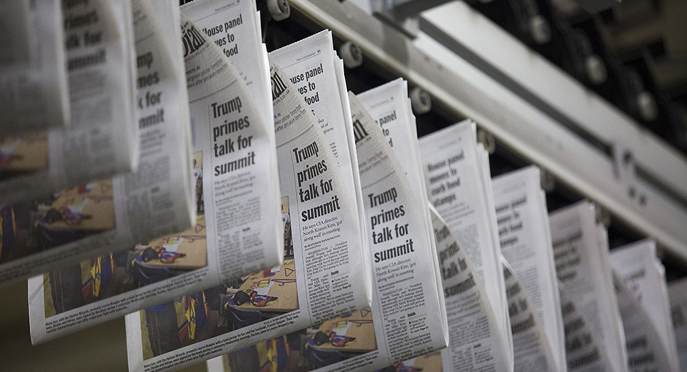 Trump tariffs on Canadian newsprint to be reversed - Read More from Politico