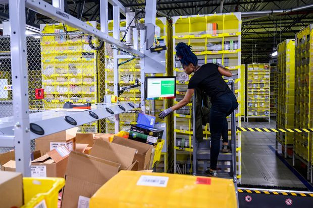 Amazon to Retrain a Third of Its U.S. Workforce - Read More from The Wall Street Journal