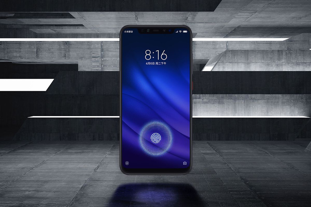 Xiaomi's Mi 8 Pro looks like an iPhone X with an in-display fingerprint sensor - Read More from The Verge