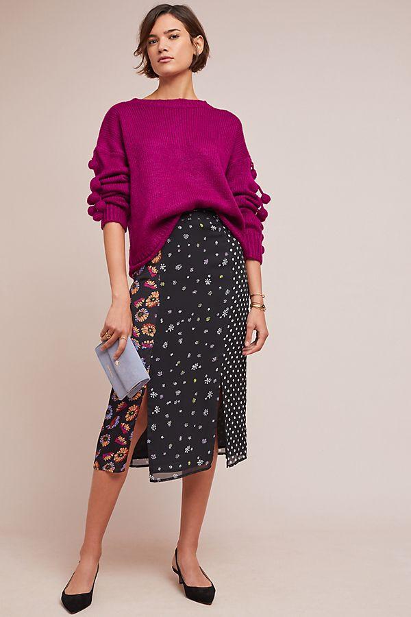Kachel Rove Patchwork Skirt $138