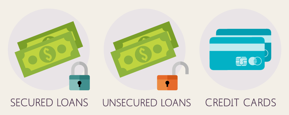 The Difference Between Secured and Unsecured Debts - Read More from The Balance
