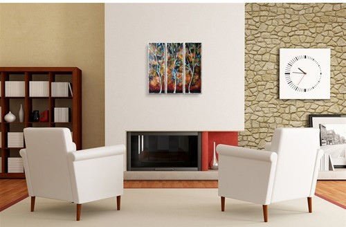 'Trees in the Breesze' by Peggy Davis 3 Piece Graphic Art Plaque Set by All My Walls now $187.24 -available at Wayfair.com