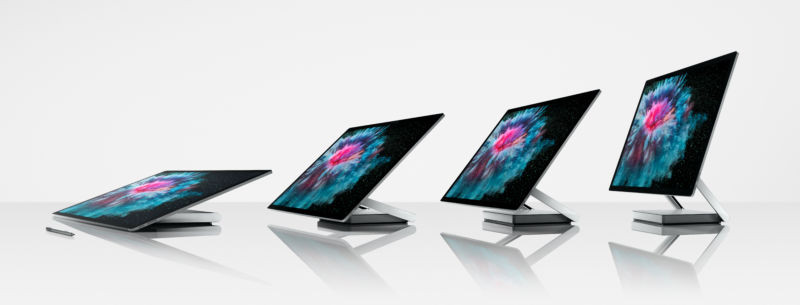 Surface Studio 2 has an even more amazing screen, ditches the spinning disks - Read More from Ars Technica