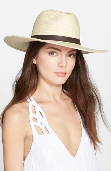 Janessa Leone Gloria Straw Hat $164