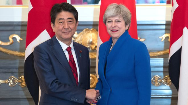 Brexit: Japan 'would welcome' UK to TPP says Abe - Read More from BBC News